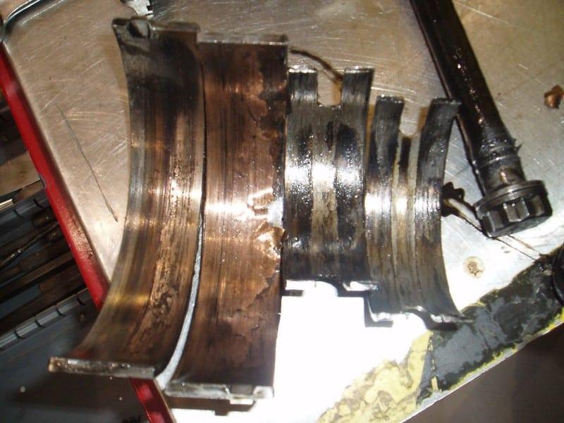 Spun Main Bearings