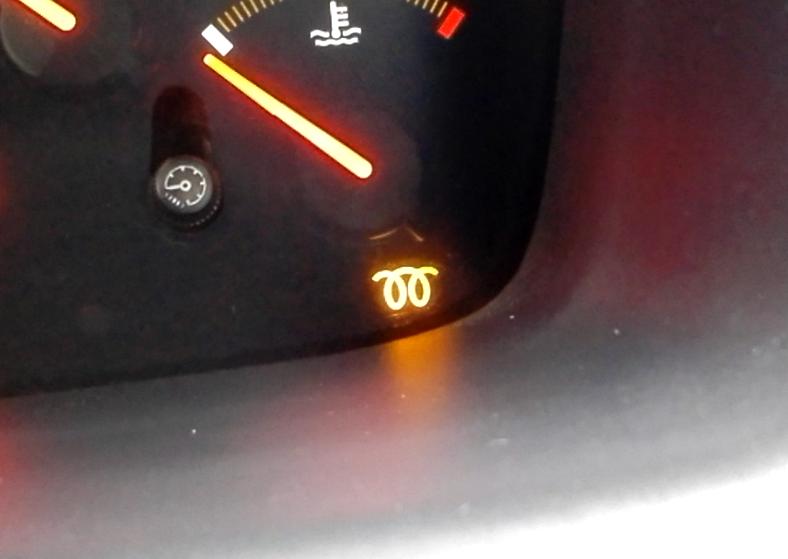 Glow Plug Warning Light on a diesel Honda Accord