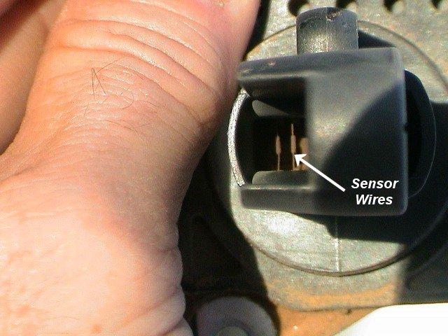 Dirty Hot Wire Mass Air Flow sensor